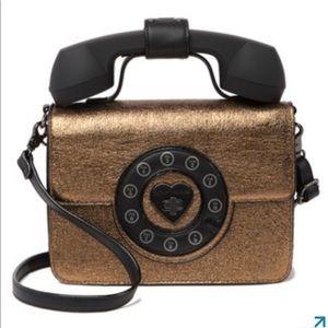 ❤️BETSEY JOHNSON HOTLINE TELEPHONE PURSE BNWT❤️📞